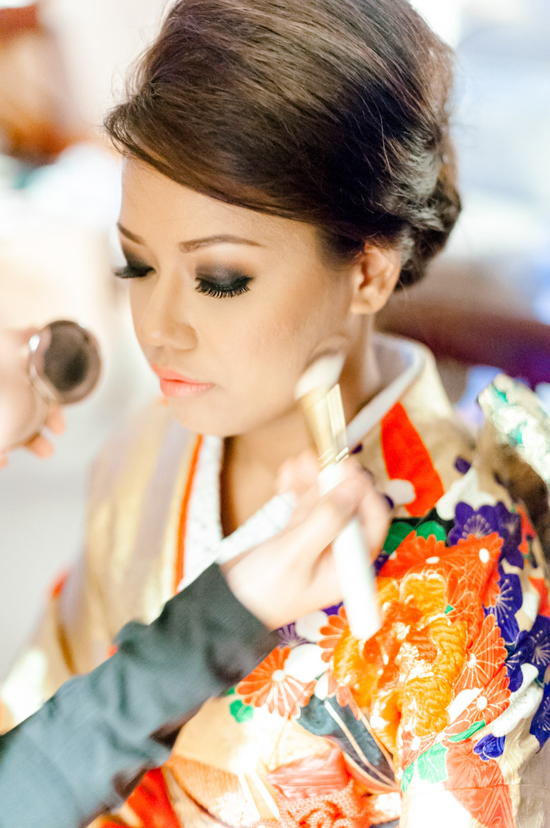 photography singapore japanese wedding bride make up