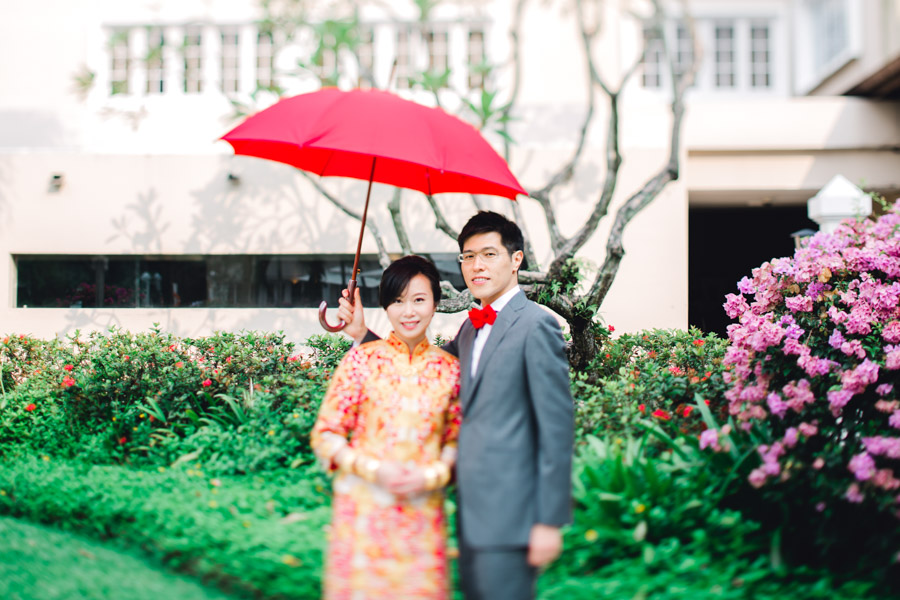 hongkong wedding in singapore